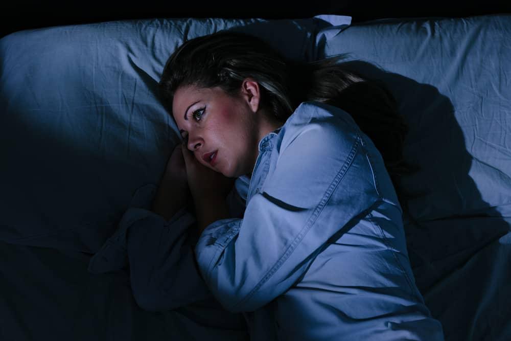 Søvnforstyrrelser - kvinde der ikek kan sove